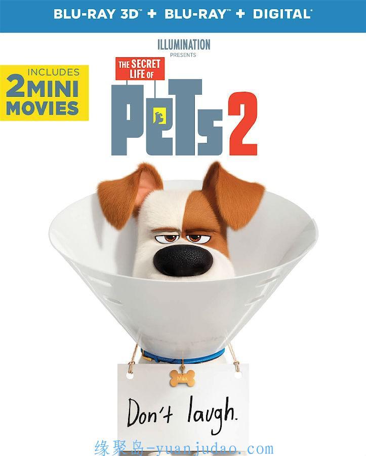 [2019][欧美][动画][1080P]爱宠大机密2|The.Secret.Life.of.Pets.2.2019.1080p.WEB-DL.DD5.1.H264-FGT